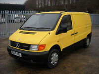 1998 Mercedes Benz Vito 108d 2.3 Diesel None Esparated Classis Engine, Starts and drives good no mot