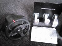 PC / PS3 and 4 steering wheel and pedals