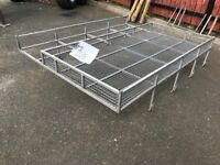 Land Rover Roof Rack with New Ladder