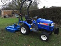 Iseki TM3160 small Tractor with topper. Only 50 hours use. Excellent condition