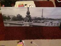 Paris canvas picture