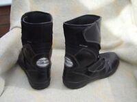 A Pair of Oxtar Motor bike boots