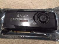 2 EVGA Geforce GTX 670 FTW (2GB) Cards for sale - £100 in total or £50 for one (willing to deliver)