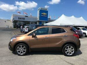 2016 Buick Encore PREMIUM AWD, LEATHER, REMOTE START, LOCAL TRD!
