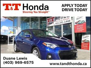 2014 Toyota Corolla S *Local Car, Back-Up Camera, Remote Star