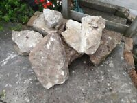 A few good condition rocks - light in colour free to a good home. Will need collecting from BS40