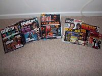 GUITAR MAGAZINES & CD'S