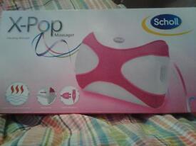 Scholl X-Pop vibrating massager