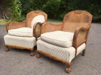 Bergere Chairs & sofa frame