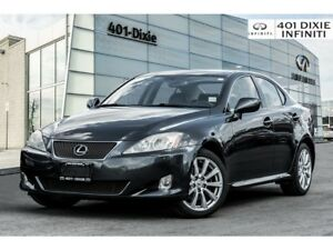 2007 Lexus IS 250 LOW KMS! Navi! Backup Cam! Trade IN!