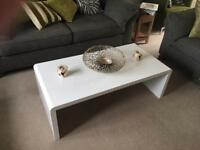 White Coffee Table as new