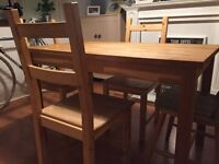 Ikea Dinning Table & Chairs