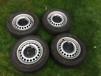 VW Transporter steel wheels