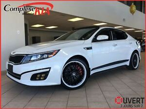 2014 Kia Optima SX Turbo CUIR TOIT PANO NAV AUDIO INFINITY