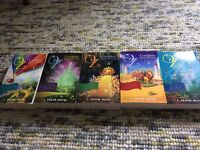 A Childrens Complete Collection of OZ books! Volumes 1-5 by L. Frank Baum! Good condition!!!