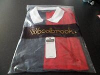 mens woodbrook casual top in size large new with tags