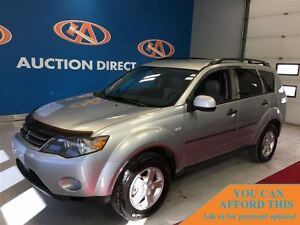 2007 Mitsubishi Outlander LS, 4x4!, LEATHER SEATS, FINANCE NOW!