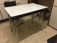 **reduced**Formica extendable retro vintage kitchen dining table TAVO