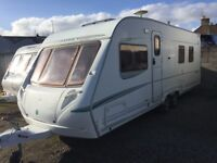 ABBEY SPECRUM 535 2005 FIXED ISLAND BED TWIN AXLE
