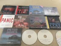 9 original audio books + tons of downloads, incl Peter James , Val McDermid, Lee Child's £25