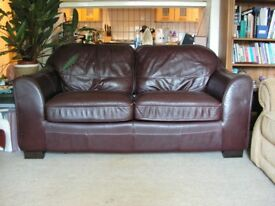 Quality, Leather Sofa Bed.