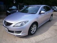 ** NEWTON CARS ** 09 MAZDA 6 2.2 TS DIESEL 125, 5 DR, GOOD OVERALL, HIGH MILES, ALLOYS, MOT DEC 2017