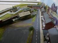 N gauge model railway