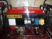 2.2kw 4 stroke petrol generator with low oil automatic shutdown,