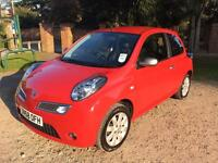 Automatic Nissan Micra 2009 1.2 Red Great Condition