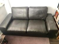 Ikea leather sofa for Sale | Sofas, Couches & Armchairs | Gumtree