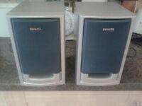 AWIA 2 Way Bass Reflex System HiFi Speakers