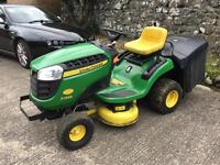 John Deere X135R Ride-on Lawnmower