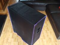 Purple Chili / Zoot Boutique Guitar Cab Oversized 4x12 Cabinet + Roqsolid Cover