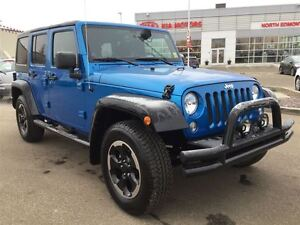 2014 Jeep WRANGLER UNLIMITED Sport | Manual | 4WD | Removable To