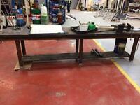 Workshop bench 12ft