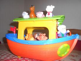 John Lewis Musical Arl Toy - plays music ans makes animal noises.