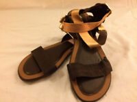 5 pairs of girls sandals size 4 and 4.5