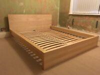 IKEA Malm bed.