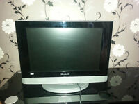 """19"""" tv with built in dvd player"""