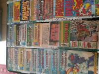 Selection of 1980's Marvel, Trsnsformers, Star Wars Amstrad Comics