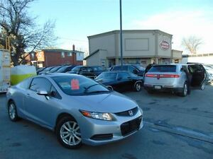 2012 Honda Civic - EXL- LEATHER ROOF -NAVIGATION