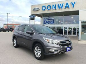 2015 Honda CR-V EX-L AWD| LEATHER|SUNROOF| VERY LOW KM!!