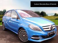 Mercedes-Benz B Class ELECTRIC DRIVE ELECTRIC ART PREMIUM (blue) 2016-03-30