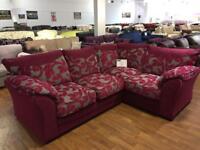Brand new buoyant corner sofa. Only £595