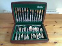 Cutlery Set Silver Plated Oneida Mansion House