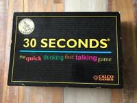 30 seconds board game