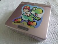 Nintendo GAMEBOY ADVANCED SP PINK BABY MARIO CONSOLE / PAY PAL / FREE POSTAGE.