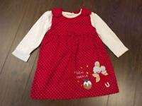 Xmas 🎄🎀👧🏻 bundle of beautiful outfits 12-18 months🎄🎀👧🏻 EXCELLENT new condition