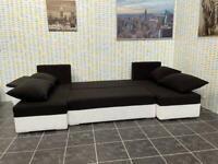 U shape corner sofa bed