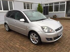 2007 Ford Fiesta Zetec Climate 1.3 Petrol Manual 1 owner from new
